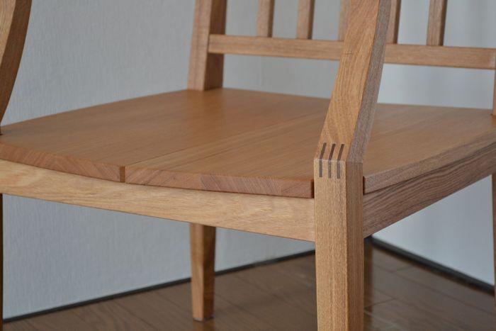 椅子の接合部分