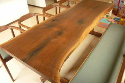 ウォールナット1枚板テーブル