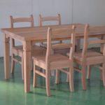 オークシャビーシックテーブル
