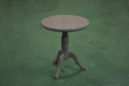 オークシャビーシック丸テーブル