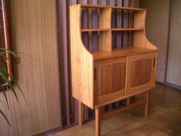欅材飾り棚