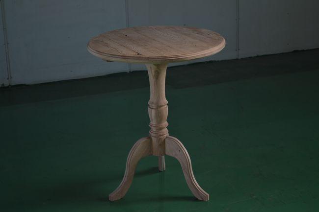 シャビーシック丸テーブル