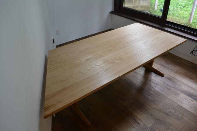 栗オーダーダイニングテーブル