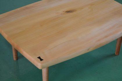 イチョウの座卓
