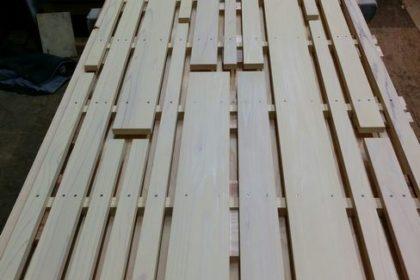 杉材フェンス