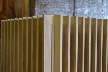 木製ルーバー
