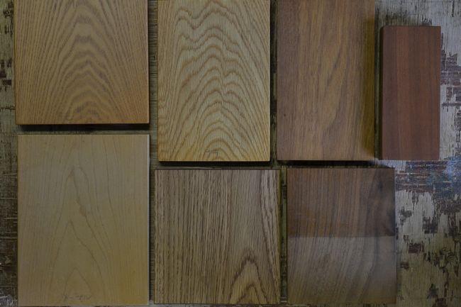 テレビボード 木材サンプル