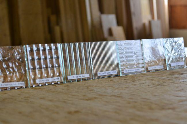 テレビボード ガラスサンプル