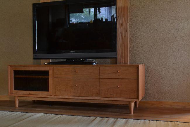 ブラックチェリー オーダーテレビボード